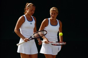 Kateryna Bondarenko and Alona Bondarenko- 2009 Prague Doubles Champions