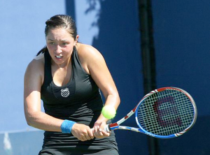 Jessie Pegula plays with the Wilson Tour