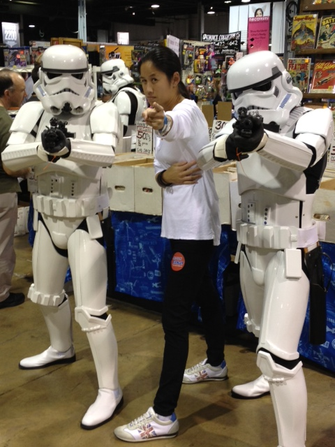 Yes, I geeked out at Chicago Comic Con. I LOVE STAR WARS