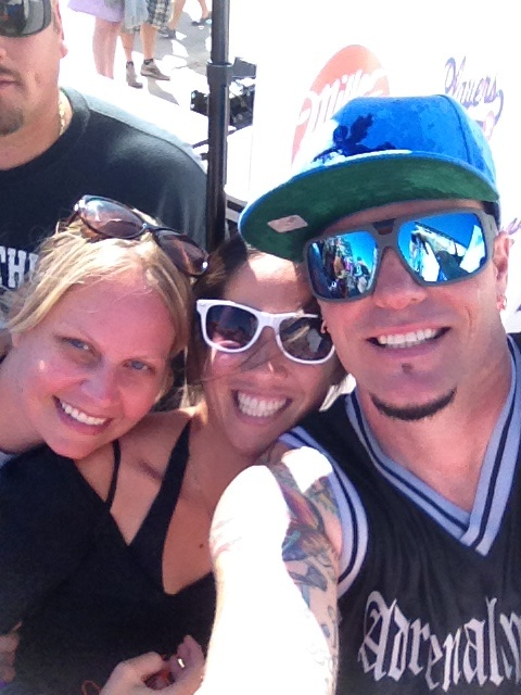 Erika Offerdahl, Tracy Almeda-Singian and Vanilla Ice!!